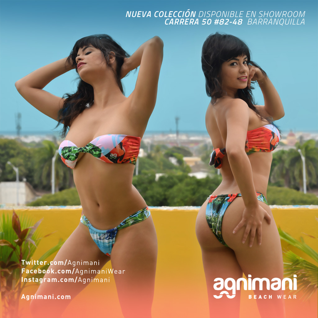 Mujeres colombianas en bikini
